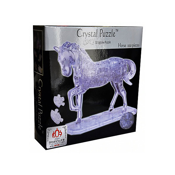 цена на Crystal Puzzle 3D головоломка Crystal Puzzle Лошадь