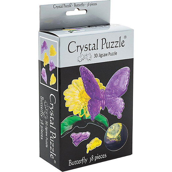 цена на Crystal Puzzle 3D головоломка Crystal Puzzle Бабочка