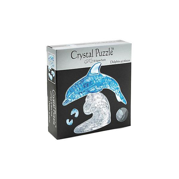 цена на Crystal Puzzle 3D головоломка Crystal Puzzle Дельфин