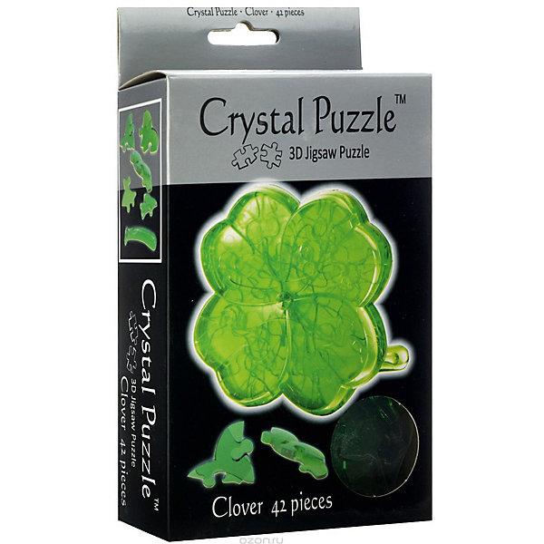 цена на Crystal Puzzle 3D головоломка Crystal Puzzle Клевер