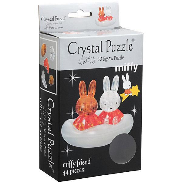 цена на Crystal Puzzle 3D головоломка Crystal Puzzle Миффи с другом