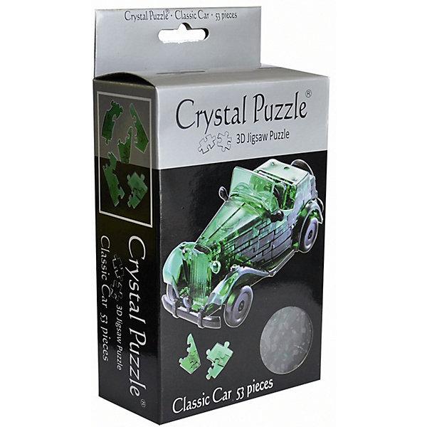 Crystal Puzzle 3D головоломка Crystal Puzzle Автомобиль зеленый