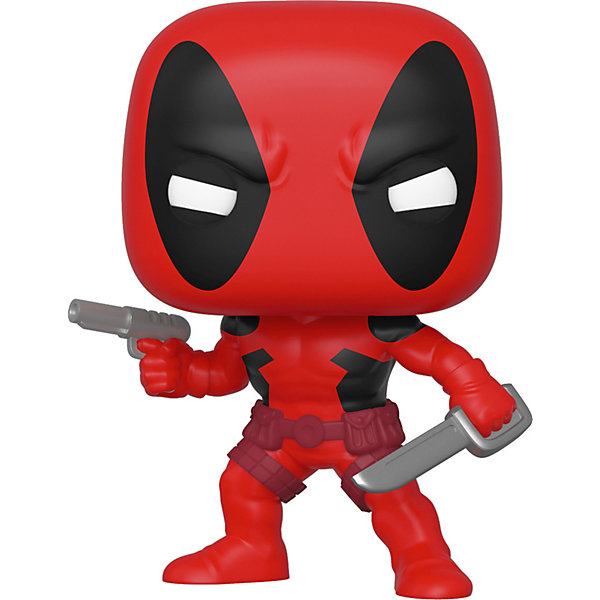 Фигурка Funko POP! Bobble: Marvel: 80th First Appearance: Дедпул, 44154 12674653