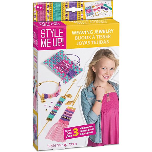 Style Me Up Набор Style Me Up Плетеные украшения style me up набор для творчества радужный мелок для волос цвет розовый