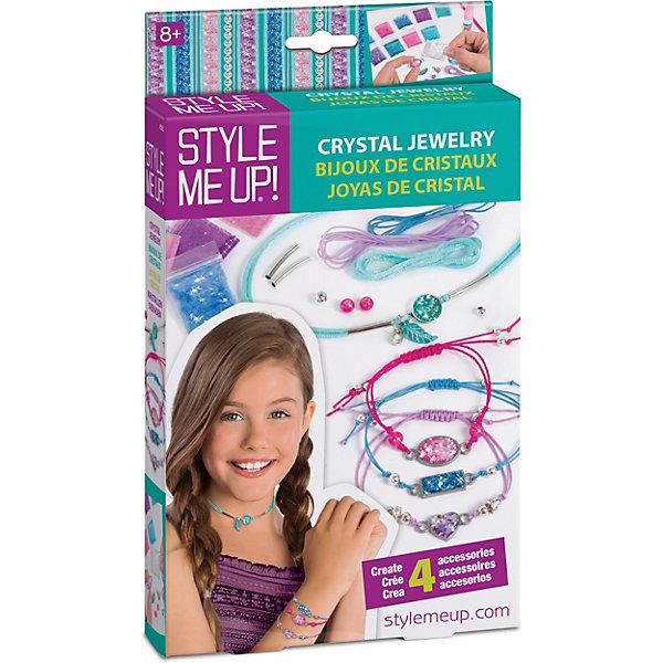 Style Me Up Набор Style Me Up Блестящие украшения style me up набор для творчества радужный мелок для волос цвет розовый