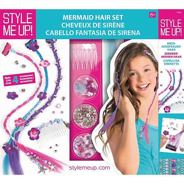 Style Me Up Набор Style Me Up Волосы русалки style me up набор для творчества радужный мелок для волос цвет розовый