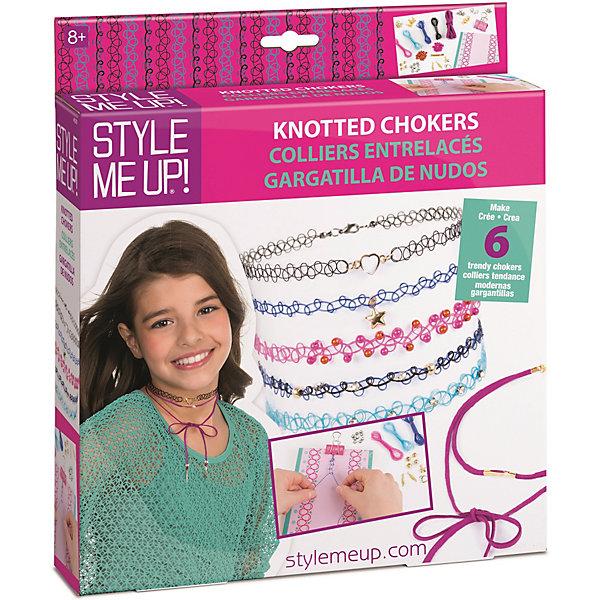 Style Me Up Набор Style Me Up для создания чокеров style me up набор для творчества радужный мелок для волос цвет розовый