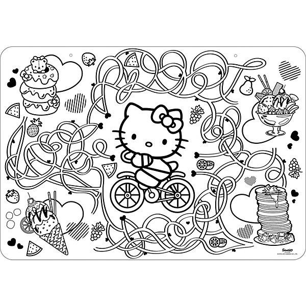 цена на Style Me Up Коврик-раскраска Style Me Up Hello Kitty