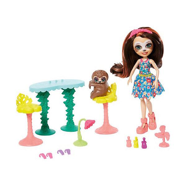 Mattel Игровой набор Enchantimals Маникюрный салон с Села Ленивец