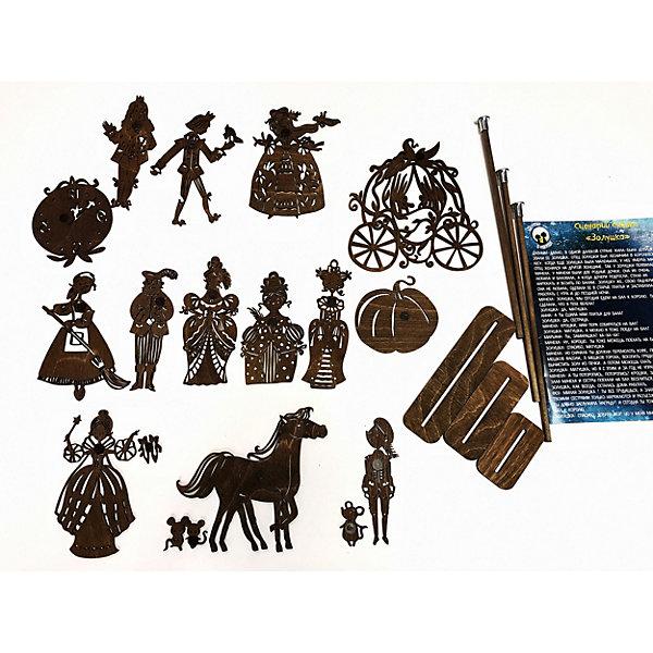 Крошки в окошке Набор фигурок для театра теней Золушка