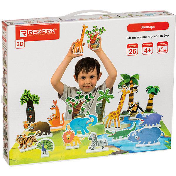 Rezark Развивающий игровой набор Зоопарк