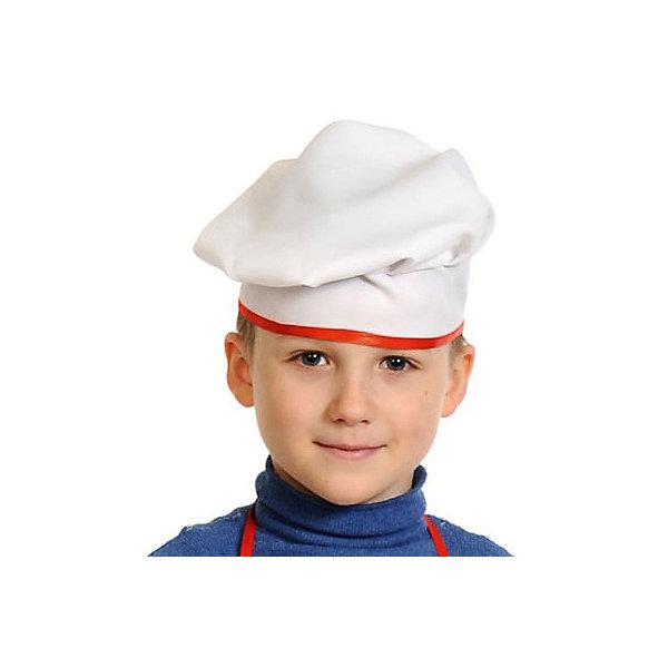 Карнавалофф Карнавальная шапка Карнавалофф Поварской колпак