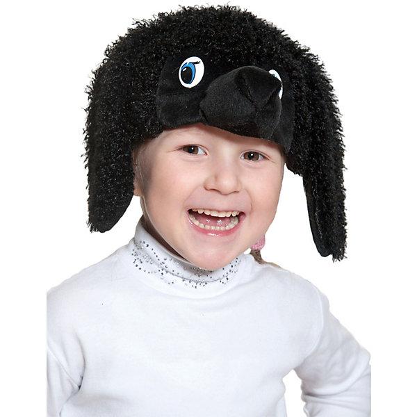 Карнавалофф Маска-шапочка Пудель, чёрный