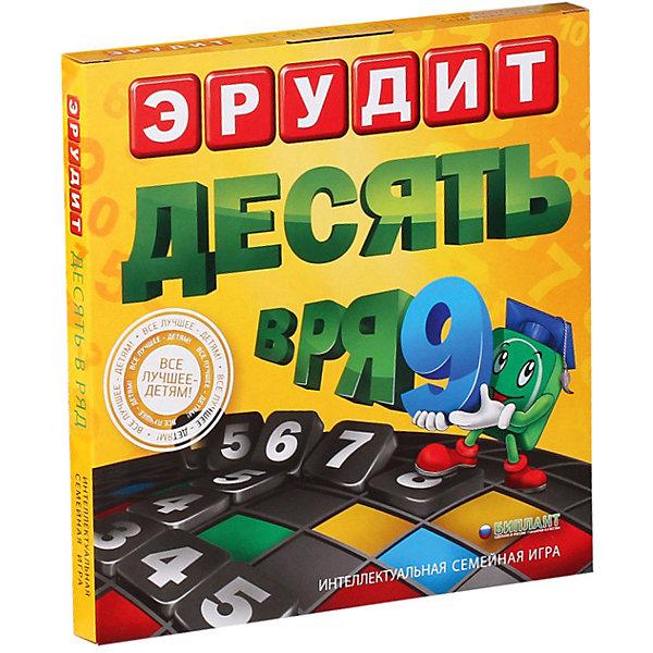 Биплант Настольная игра Биплант Эрудит