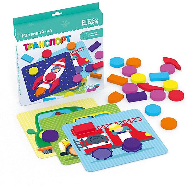 El`Basco Toys Развивающая игра с карточками El`BascoToys Развивай-ка Транспорт