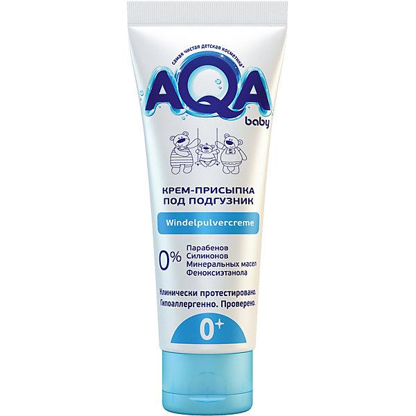 цена AQA baby Крем-присыпка под подгузник AQA Baby, 75 мл. онлайн в 2017 году