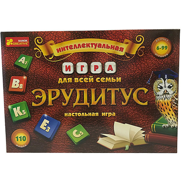 - Настольная игра Ranok-creative Эрудитус