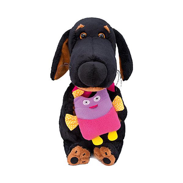 Budi Basa Мягкая игрушка Собака Ваксон с совой, 29 см