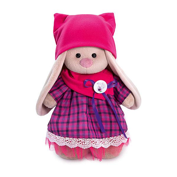 Budi Basa Мягкая игрушка Budi Basa Зайка Ми в платье со снудом и шапкой, 25 см