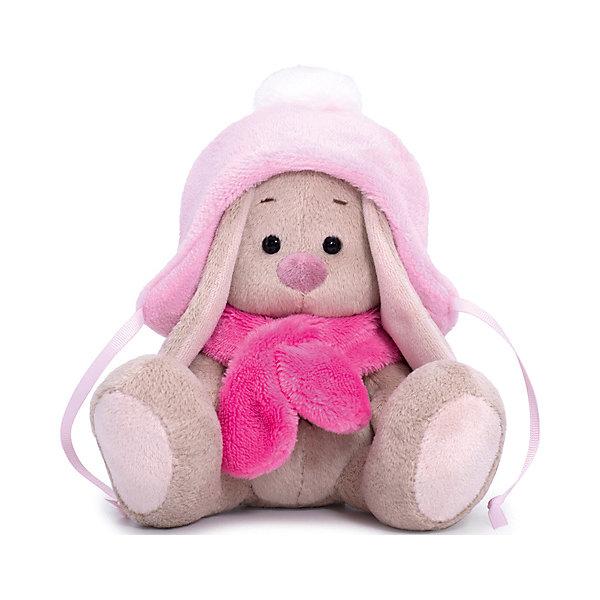 Budi Basa Мягкая игрушка Budi Basa Зайка Ми в шапке с помпоном и шарфе, 25 см