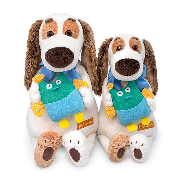Budi Basa Мягкая игрушка Собака Бартоломей с совой, 27 см