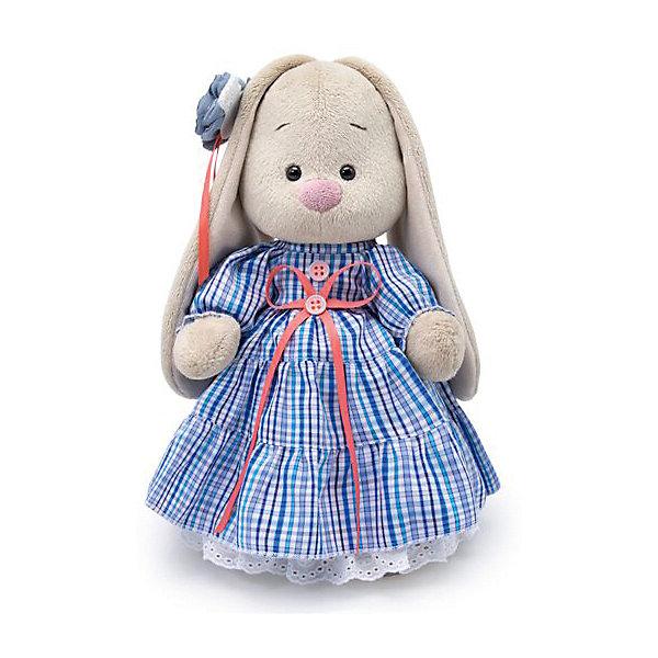 Budi Basa Мягкая игрушка Зайка Ми в платье стиле Кантри, 25 см
