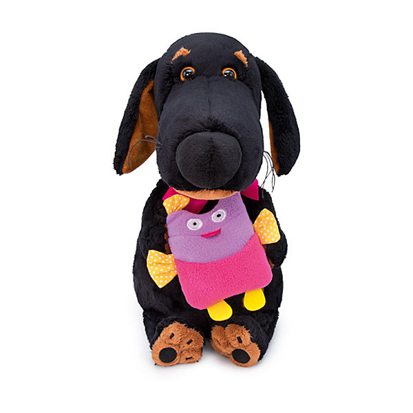 Budi Basa Мягкая игрушка Собака Ваксон с совой, 25 см