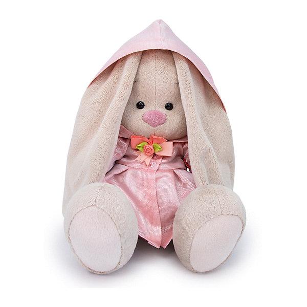 Budi Basa Мягкая игрушка Budi Basa Зайка Ми в розовом плаще, 18 см