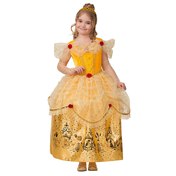 Батик Карнавальный костюм Батик Принцесса Белль батик карнавальный костюм батик принцесса белоснежка