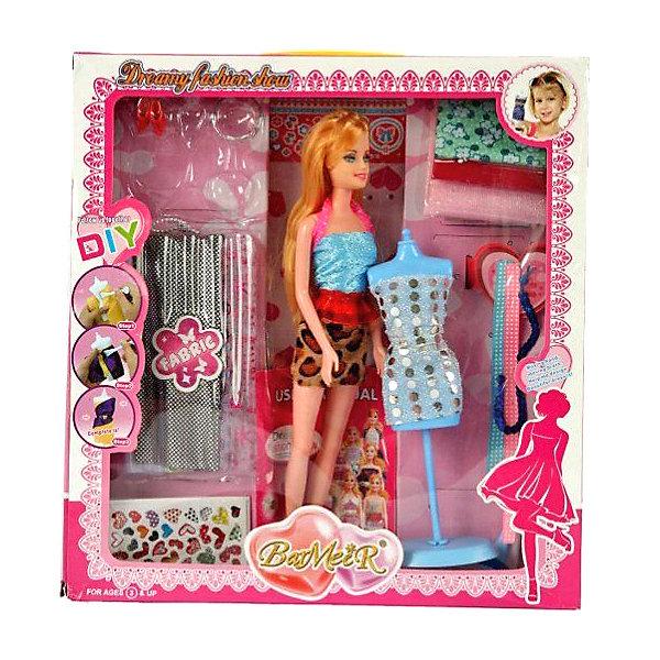 Bradex Набор для создания кукольного платья Bradex «Я дизайнер» с куклой