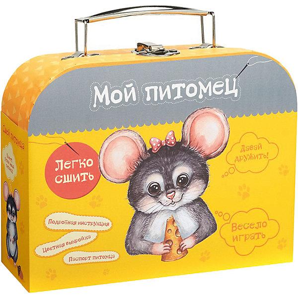 Бумбарам Набор для творчества Мой уютный домик Сшей игрушку Мышонок