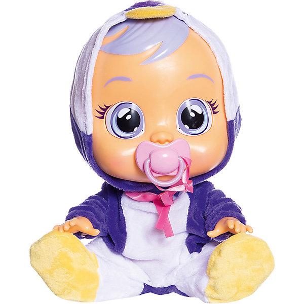 Купить Плачущий младенец IMC Toys Cry Babies Pingui, Китай, синий/белый, Женский