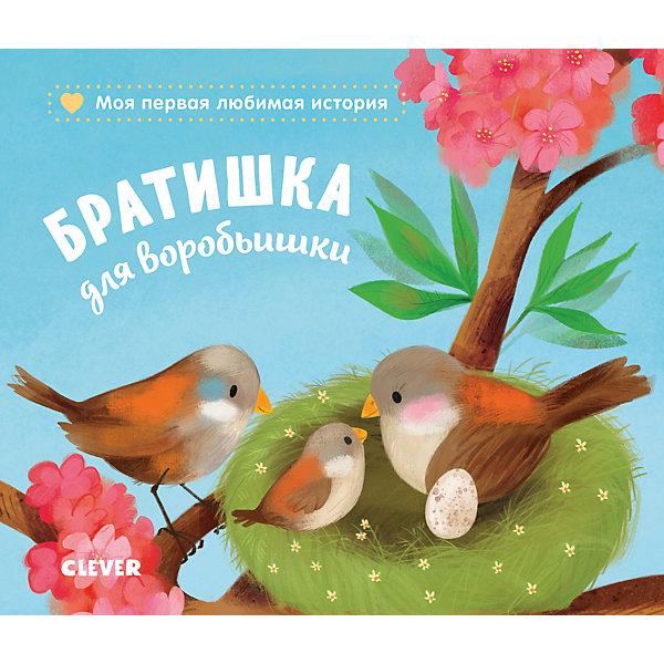 Купить Книжка-картонка Братишка для воробьишки , Райдер К., Clever, Китай, Унисекс