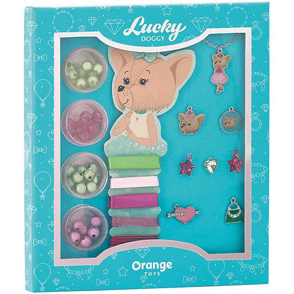 Orange Набор для создания украшений Orange Lucky Doggy Йорк style me up набор для создания украшений тату металлик 1163
