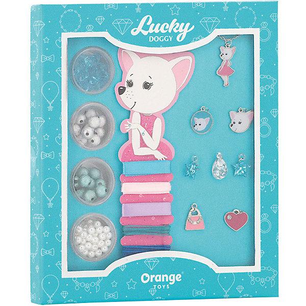 Orange Набор для создания украшений Orange Lucky Doggy Чихуахуа style me up набор для создания украшений тату металлик 1163