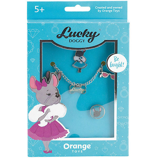 Orange Набор украшений Orange Lucky Doggy Бульдог orange цепочка с подвеской orange lucky doggy бульдог