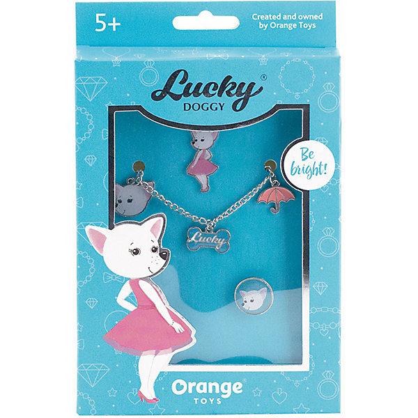 Orange Набор украшений Lucky Doggy Чихуахуа