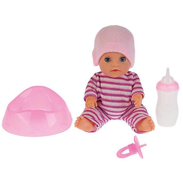 Карапуз Интерактивная кукла-пупс Яночка, 20 см