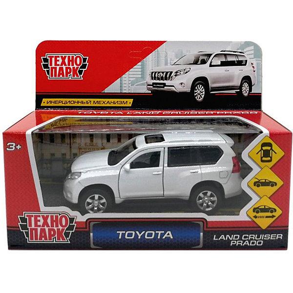 ТЕХНОПАРК Коллекционная машинка Технопарк Toyota Prado, 12 см технопарк машинка технопарк металлическая toyota prado полиция