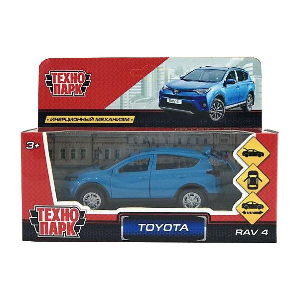 ТЕХНОПАРК Коллекционная машинка Технопарк Toyota Rav 4, 12 см, синяя технопарк автомобиль камаз автоспорт