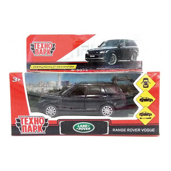 ТЕХНОПАРК Коллекционная машинка Технопарк Range Rover Vogue, 12 см, чёрная технопарк автомобиль камаз автоспорт