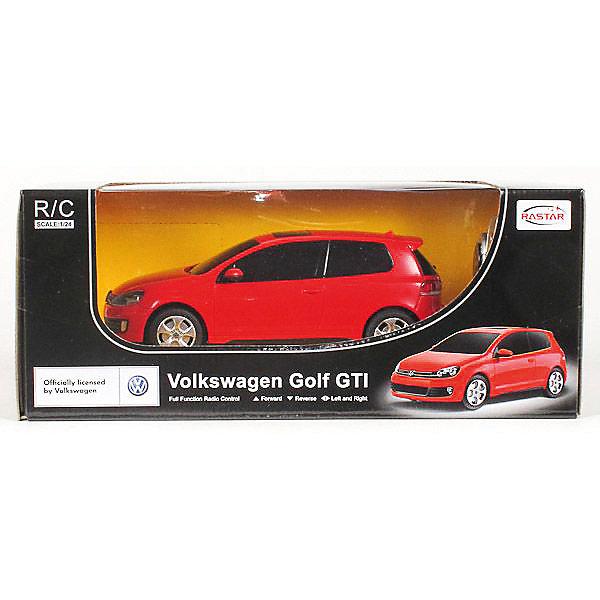 цена на Rastar Радиоуправлемая машинка Rastar Golf GTI, 1:24