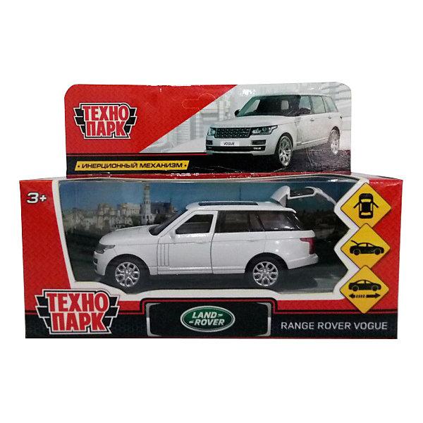 ТЕХНОПАРК Коллекционная машинка Технопарк Range Rover Vogue, 12 см, белая технопарк автомобиль камаз автоспорт