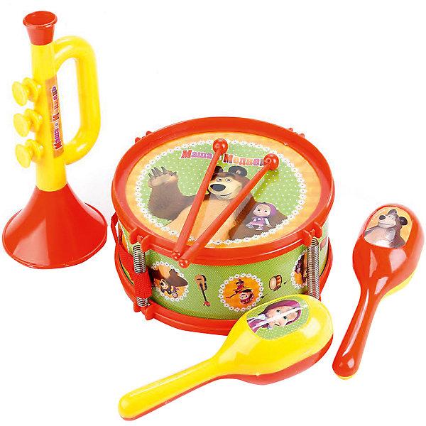 Играем вместе Музыкальные инструменты Маша и Медведь