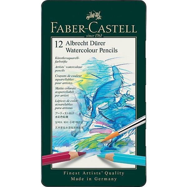 Faber-Castell Карандаши акварельные художественные Faber-Castell Albrecht Dürer, 12 цветов карандаши акварельные faber castell albrecht durer 36 цветов 117536