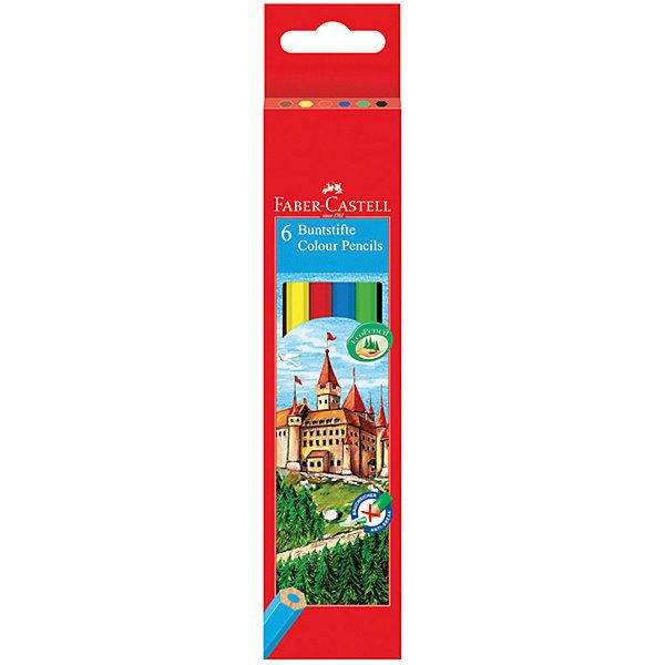 Faber-Castell Карандаши цветные Faber-Castell, 6 цветов