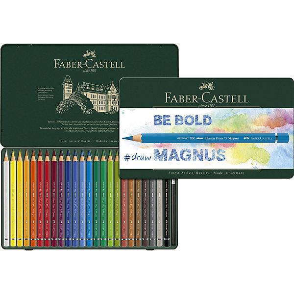 Faber-Castell Карандаши акварельные художественные Faber-Castell Albrecht Dürer Magnus, 24 цвета