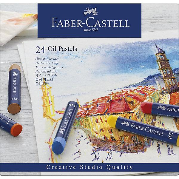 Faber-Castell Пастель масляная Faber-Castell Oil Pastels, 24 цвета i philipp pastels op 24