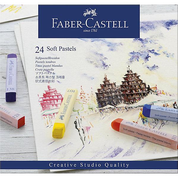 Faber-Castell Пастель Faber-Castell Soft pastels, 24 цвета i philipp pastels op 24