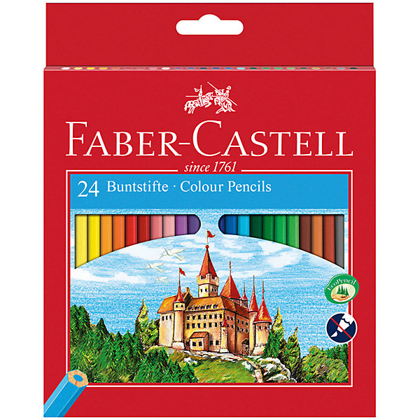 Faber-Castell Карандаши цветные Faber-Castell, 24 цвета